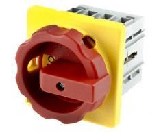 Siemens 3LD2003-0TK53 3P Rojo, Amarillo interruptor eléctrico - Accesorio cuchillo eléctrico (400-690 V, 50/60 Hz, 16 A, 340 A, Rojo, Amarillo, 67 mm)