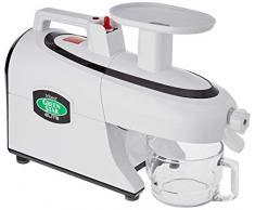 Greenstar Elite 5000 - Exprimidor eléctrico, con accesorios, color blanco