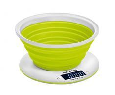 Innoliving INN-129 Mesa Alrededor Báscula electrónica de cocina Verde, Blanco - Báscula de cocina (Verde, Blanco, CR2032)
