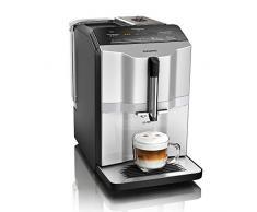Siemens EQ.3 s300 Cafetera automática, 1300 W, 1.4 litros, plástico, plata