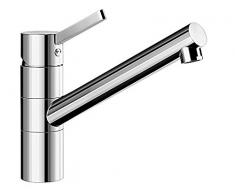 BLANCO Tivo Cromo - Grifo (Cromo, 360°, LGA, DVGW, 23,5 cm, 3,5 cm)