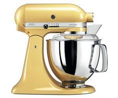 KitchenAid Artisan - Robot de cocina (Amarillo, Acero inoxidable, 50/60 Hz)