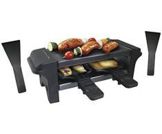 NERTHUS FIH 068 - Parrilla eléctrica y raclette, Acero Inoxidable, Asar, hornear y fundir
