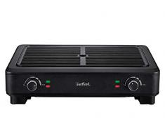 Tefal TG900812 parrilla eléctrica de contacto - Parrillas eléctricas de contacto (Negro, Rectangular, Giratorio, 1172 cm², 432 x 272 mm, 2000 W)