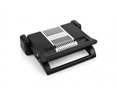 Nova 110502 - Parrilla Multiusos 4 en 1, Placas Desmontables para Sandwichera, Parrilla de Mesa, Gofrera, 1500 W