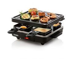 Domo DO9147G 4personas(s) raclett eléctrico - Raclette