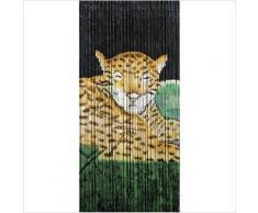 Wenko - Cortina de bambú leopard