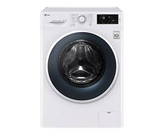 LG F14WM8EN0 Independiente Carga frontal 8kg 1400RPM A+++ Blanco - Lavadora (Independiente, Carga frontal, Blanco, Giratorio, Tocar, Frío, Caliente, CE)