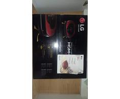 LG VR8601RR Sin bolsa 0.6L Negro, Rojo aspiradora robotizada - aspiradoras robotizadas (Sin bolsa, 0,6 L, Negro, Rojo, 60 dB, Mancha, HEPA 11)