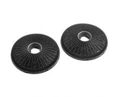 Zanussi ECFB02 Cooker hood filter accesorio para campana de estufa - Accesorio para chimenea (Cooker hood filter, Negro, Fibra de carbono, Zanussi, ZHC92462XA, ZHC62462XA, 190 mm)