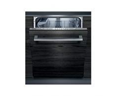 Siemens iQ300 SN615X04DE lavavajilla Totalmente integrado 13 cubiertos A++ - Lavavajillas (Totalmente integrado, Tamaño completo (60 cm), Negro, Cromo, Botones, 175 m)