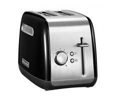 KitchenAid 5KMT2115EOB - Tostador (2 rebanada(s), Negro, Metal, Botones, Giratorio, 220-240 V, 50-60 Hz)