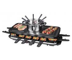 De Silva Homeline RG de F 12 combinado Raclette con fondue, 12 personas, 1600 W