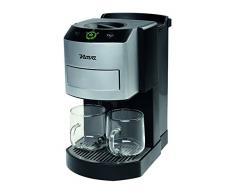 Nova 240400 Independiente Totalmente automática Máquina de café en cápsulas 1L 10tazas Negro, Plata - Cafetera (Independiente, Máquina de café en cápsulas, 1 L, Dosis de café, 1600 W, Negro, Plata)