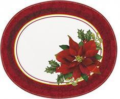 Decoración de Navidad, diseño de Flor de Pascua