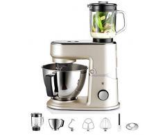 WMF 04.1644.0001 - Robot de cocina (3 L, Marfil, 16000 RPM, 1 m, Metal, Vidrio)