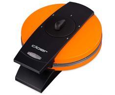 Cloer 1627-15 930 - Gofrera automática, color naranja