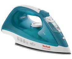 Tefal Easy Gliss FV1542E1 - Plancha de vapor 2100 W, golpe vapor 100 gr/min y vapor continuo de 25 gr/min con suela Ultragliss Diffusion cerámica con diseño muy ligero, fácil manejo