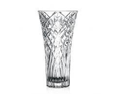 RCR Vaso 25616020006 Melodia Crystal Flower Vase 30 cm, 16 cm
