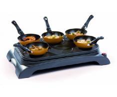 Domo DO8706W fondue, gourmet y wok - Accesorio de cocina (Negro, 50 Hz, 220 - 240 V)