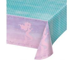 Creative Converting 336720 - Mantel de plástico con impresión en Todo el Mundo, 137 x 102 cm, 0,01 x 102 x 54 Inc, Iridiscente
