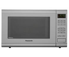 Panasonic NN-GT462MGPG Integrado - Microondas (Integrado, Microondas combinado, 31 L, 1000 W, Botones, Plata)