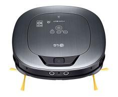 LG VSR9640PS - Hombot Turbo Serie 12. Robot aspirador, video vigilancia avanzada, color plata metalizado
