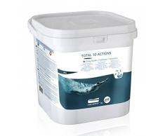 Gre 76038 - Pastillas multiacción para el tratamiento completo de la piscina, 10 acciones, 5kg