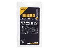 Universal 5055134-22/4 CHO022 Cadena de sierra para motosierra, 14/35cm 3/8 52p, optimo afilado, mantenimiento sencillo, accesorios McCulloch, Standard