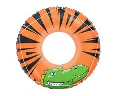 Bestway 36108 Pool & Beach Float - flotadores para Piscina y Playa (Swim Ring, Negro, Vinilo, China, Full Color Box)
