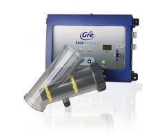 Manufacturas Gre ESP100 - Clorador salino para piscinas elevadas, hasta 100m3