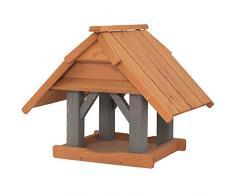 Siena Garden - Casa de alimentación para pájaros, Color marrón Claro y marrón