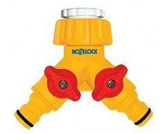 Hozelock 06421550 Conector doble para grifo