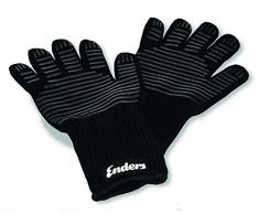 Enders Barbacoa Guantes de aramida refractario, 8785, resistente al calor, guantes para parrilla de gas, barbacoa, horno, chimenea, seguro y cómodo