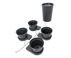 Sistema de riego automático de 4 plantas GoGro Essential - recipientes de 15 litros