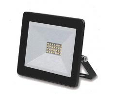 Kingavon BB-HL171 - Lámpara de Techo de Cristal (IP65, 150 x 35 x 127 mm), Color Negro