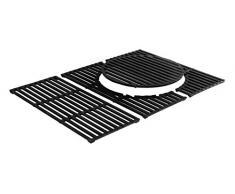 Enders 7806 Switch Grid nuevo, parrilla de fundido para BBQ Parrilla de gas Monroe 3 S y Monroe 3 Sik Turbo Barbacoa/Grill, Negro, 48 x 63 x 1 cm