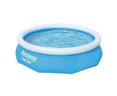 Bestway Fast Set Pool 305x76 cm, ohne Pumpe Piscina Desmontable Autoportante, Color Azul 57266