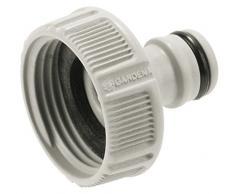 Gardena 18202-20 - Conexión para el Grifo de Agua con Rosca, unión hermética, fácil manejo, Macho para Grifo 33.3 mm G 1