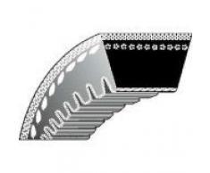 Ratioparts - Correa Trapezoidal Tipo 4-12,7 x 2235 para cortacésped, Tractor cortacésped, Correa de Doble cuña, Color Verde