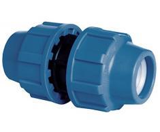 Cornat Sistema de Riego Embrague para Tubos de PE de, 32 mm de diámetro, Polipropileno, para Agua fría
