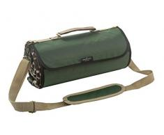 Greenfield Collection Luxury Forest Green Plaid manta de picnic resistente a la humedad XL