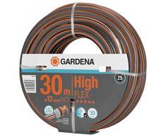 Gardena Manguera Comfort HighFLEX 13 mm (1/2), 30 m: Manguera de jardín con Perfil de Agarre eléctrico, presión de ruptura de 30 Bar, dimensionalmente Estable, Resistente a los Rayos UV (18066-20)