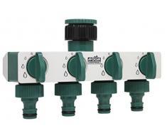 AQUA CONTROL C2027 Adaptador Grifo, Verde Blanco, 13 X 18 X 6 cm