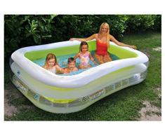 Intex - Piscina familiar Swim Center - Piscina para niños - Piscina para niños - 26 x 16 x 16 - Para mayores de 6 años, azul