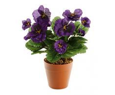 Closer to Nature (I-Fulfilment) HBC006PUE - Planta artificial de plástico, 30 cm, color púrpura