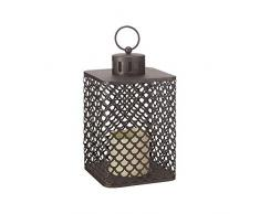 Smart Garden Products 3150130 - Lámpara cairene, 24 x 14 x 14 cm, marrón oscuro