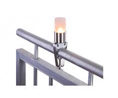 My Balconia tmbacc5432 portatealight candelabro para balcón, Blanco