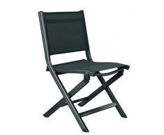 Kettler advantage 0301218-7000 - Silla plegable base, así como balcón silla plegable, multicolor