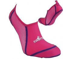 Swimtech 5-7 - Calcetines para Piscina, Color Rosa